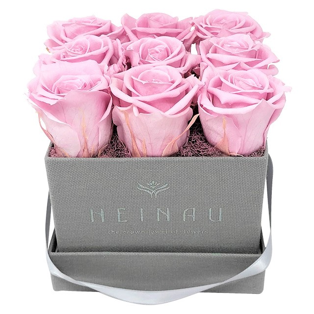 Heinau® Square Rose Box (Grey)