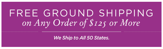 Free Ground Shipping Banner