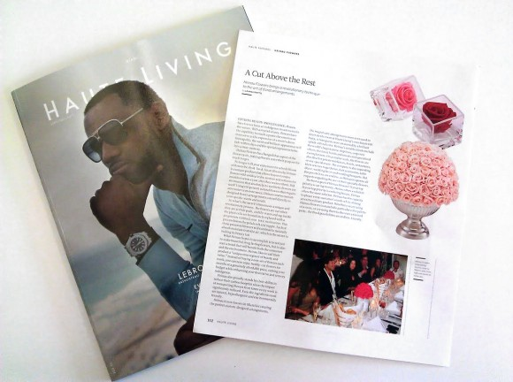 Haute Living June/July 2011