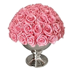 Heinau Luxurious Dome Pink Flowers Roses